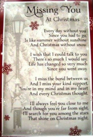 Remembering Lost Loved Ones Christmas Quotes : Christmas Missing Loved Ones Quotes. QuotesGram