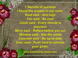Secrets Hurt Quotes 7 secrets of success