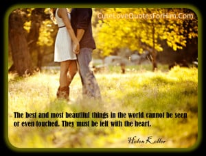 cute love quotes for him cards