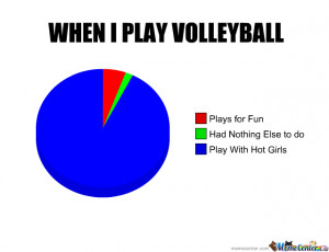 Volleyball Game Meme...
