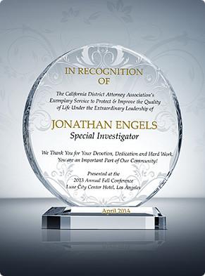 Home > Law Enforcement Award Plaques > Law Enforcer Appreciation ...