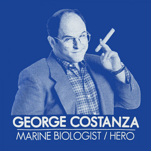 George Costanza Marine Biologist available at 80sTees