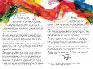 Speak Now: Prologue
