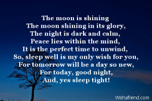 Search Results for: Good Night My Friend Poem