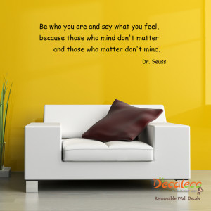 Home » Quotes / Lettering » Be Who You Are Dr. Seuss Quote