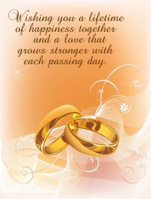 Free Wedding Message