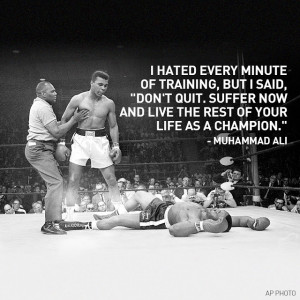 Muhammad Ali mental toughness