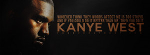 kanye west too stupid stupid is the girl infinite stupidity