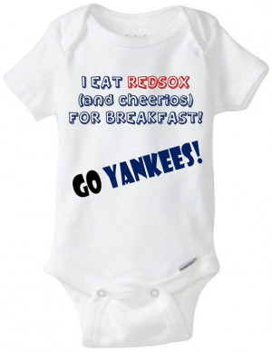 Customized Funny Sports Team Rivalry Onesies Bodysuites You Choose