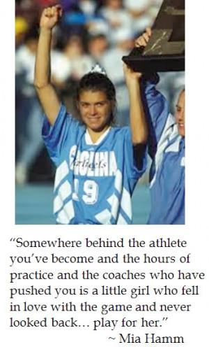 Mia Hamm on Motivation