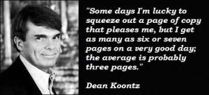 Dean koontz famous quotes 3