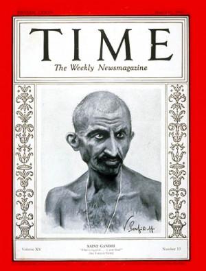 Mohandas Gandhi Time magazine