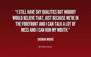 Shy Quotes