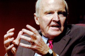 Jack Welch, former CEO of GE