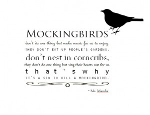 to kill a mockingbird quote typography created by me in microsoft word ...