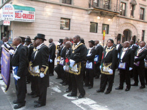 Here's a link to some famous Black Freemasons . Quite an interesting ...