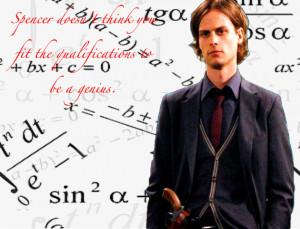 Dr. Spencer Reid Spencer Reid