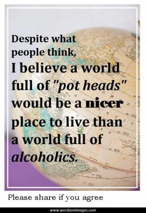 Famous Marijuana Quotes