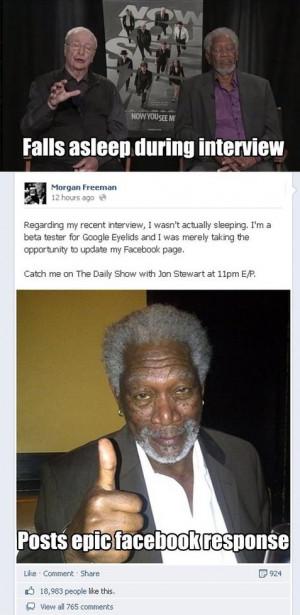 Morgan Freeman Funny Memes