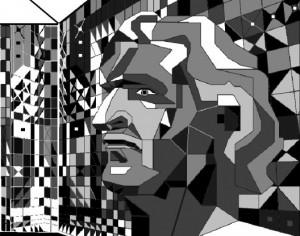 Ilustração de Roberto Burle Marx Desenho de Roberio Dias