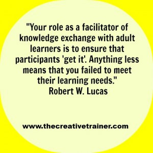 Motivational Adult Learning Quote – Robert W. Lucas