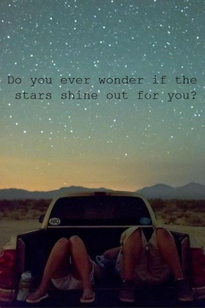 do you ever wonder....?