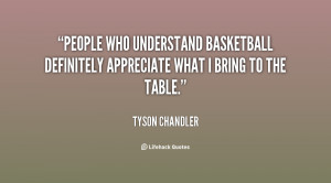 Know What I Bring to the Table Quote