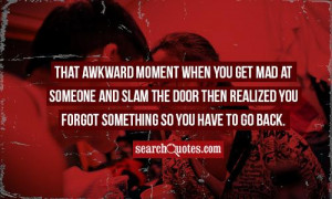 Another That Awkward Moment...