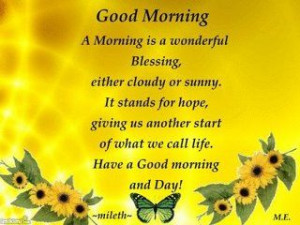 Good Morning Sunshine Quotes | share