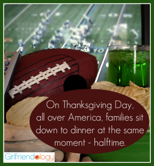 Thanksgiving quote halftime