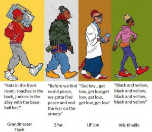 Respeto al rap en lo que respecta a las letras (muy buenas), pero si ...