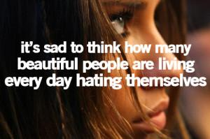 beautiful, day, people, quote, sad