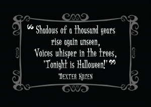 The Post-Halloween Post