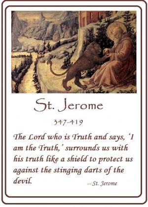 St Jerome Prayer