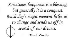 Life quotes on wallpaper - quote by Paulo Coelho