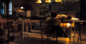... catching fire the scene wherein katniss comforted gale after the