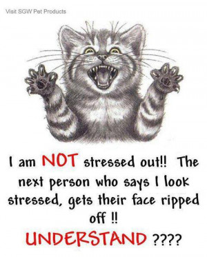 not stressed out