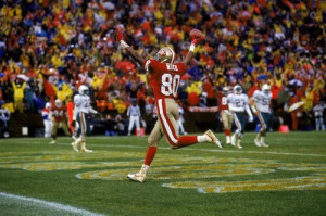 jerry rice s 101st career touchdown catch breaking the record
