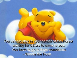 Winnie the pooh quotes sayings quote cute positive best
