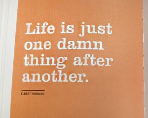 Funny Life Quotes One Damn...