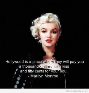 Celebrities money quotes – Monroe