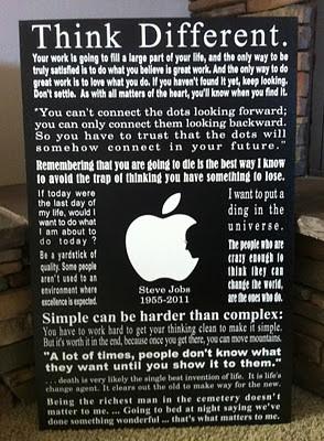 For my classroom. Steve Jobs.