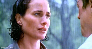 She was too in love to notice!' Andie MacDowell has defended her most ...