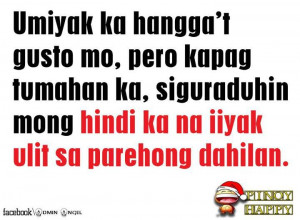 Iyak Quotes : Tagalog Sad Love Quotes