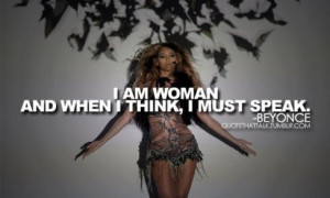 Share or comment below your favorite Beyonce quote!