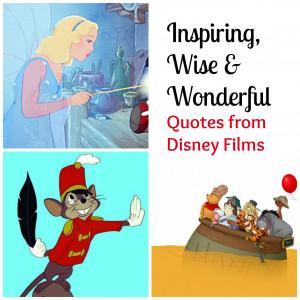 Inspirational Disney Movie Quotes For Desktop