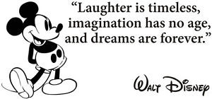 Disney-Mickey-Mouse-Laughter-Is-Timeless-Vinyl-Decal-Wall-Quote ...