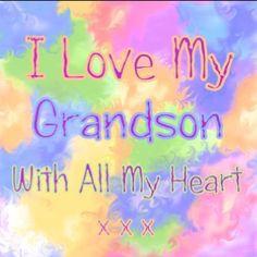 Grandson Sayings I love my grandson