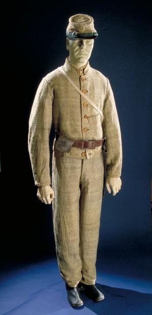 american civil war confederate uniforms