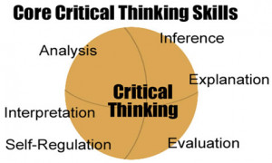 Critical thinking is a critical competence in the information society